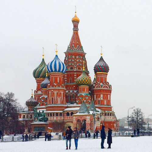 Moscow, Basilius Cathedral